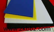 各种颜色PP中空板